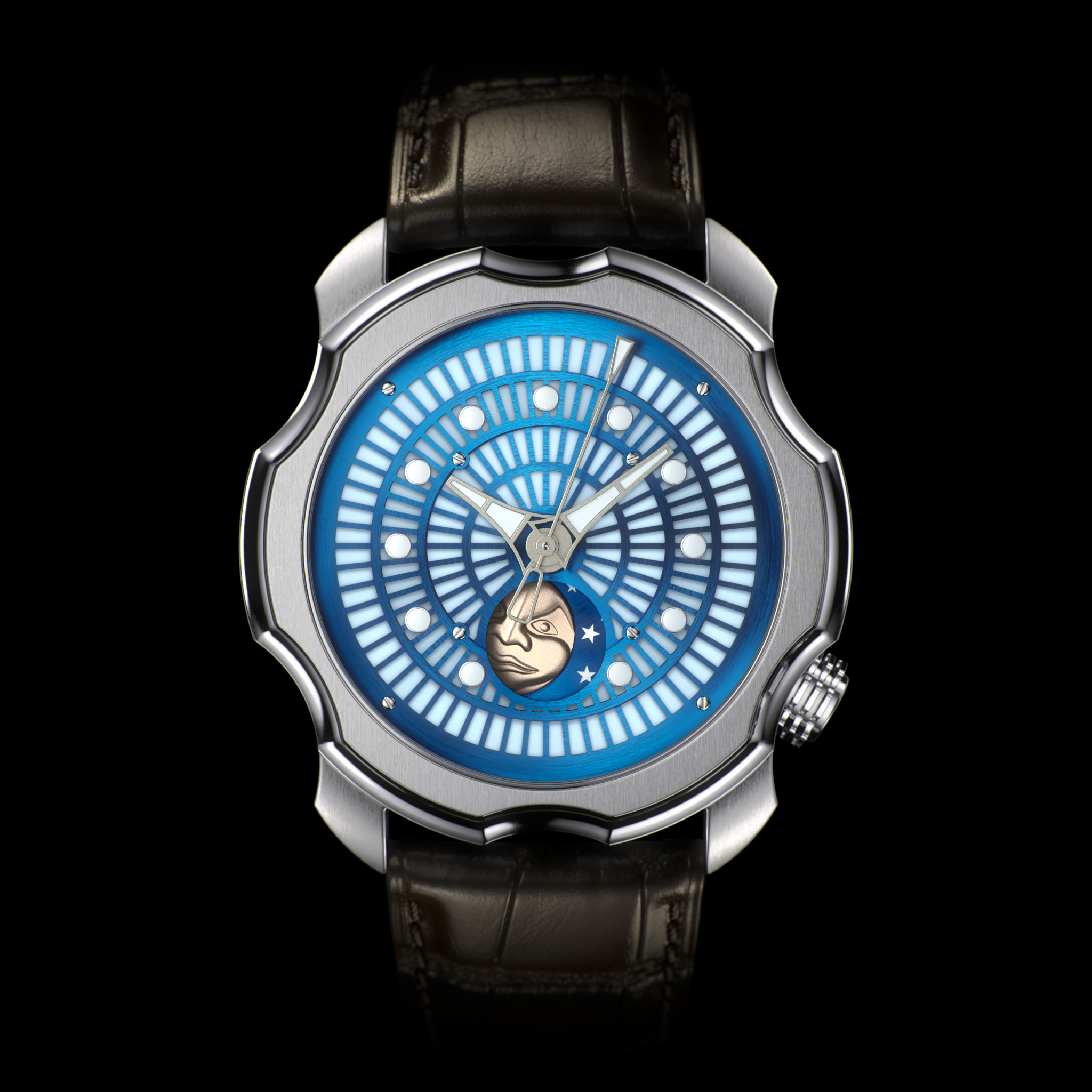 Sarpaneva korona northern lights blue