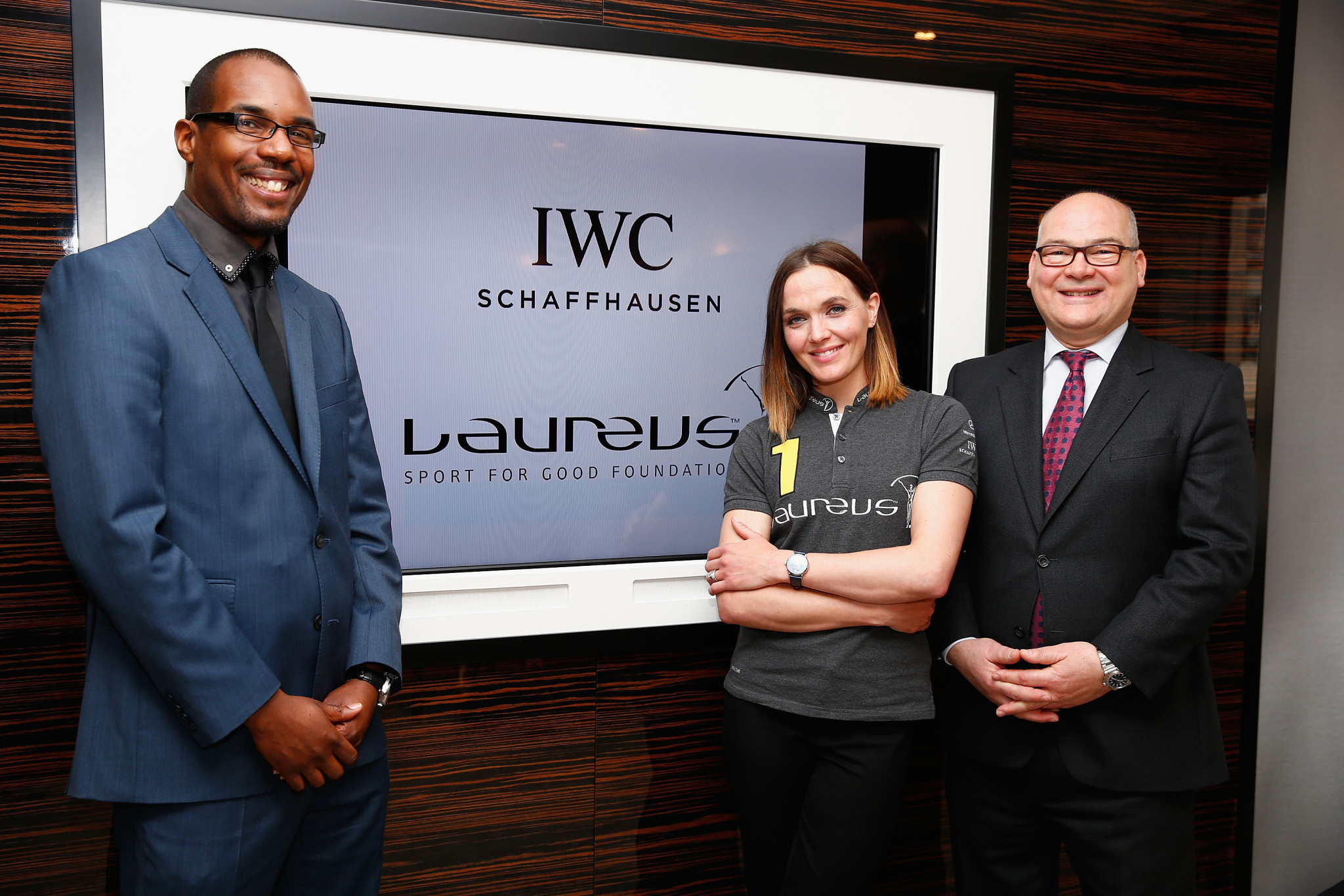 Laureus IWC Watch Launch in the UK
