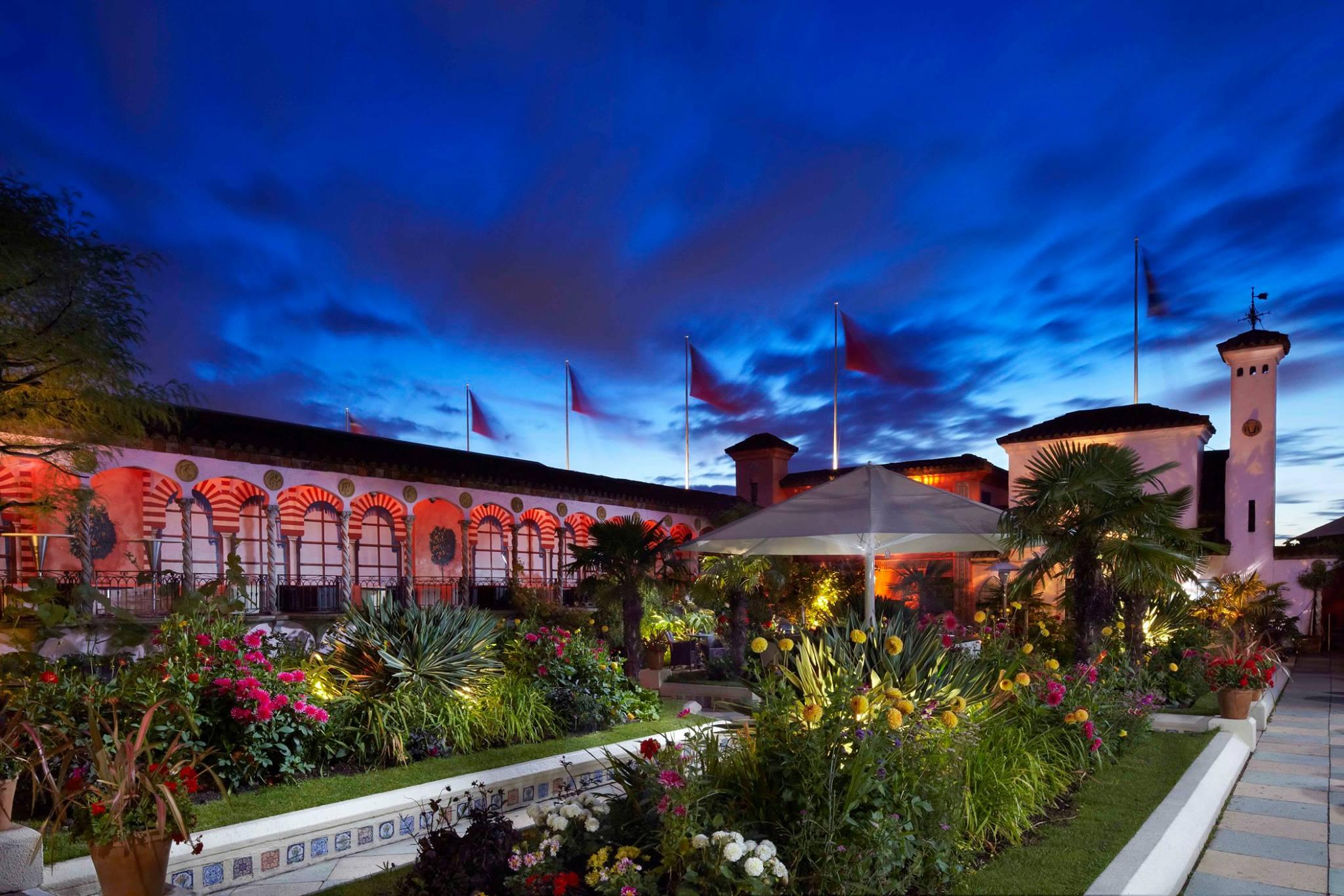 Roog Gardens sunset