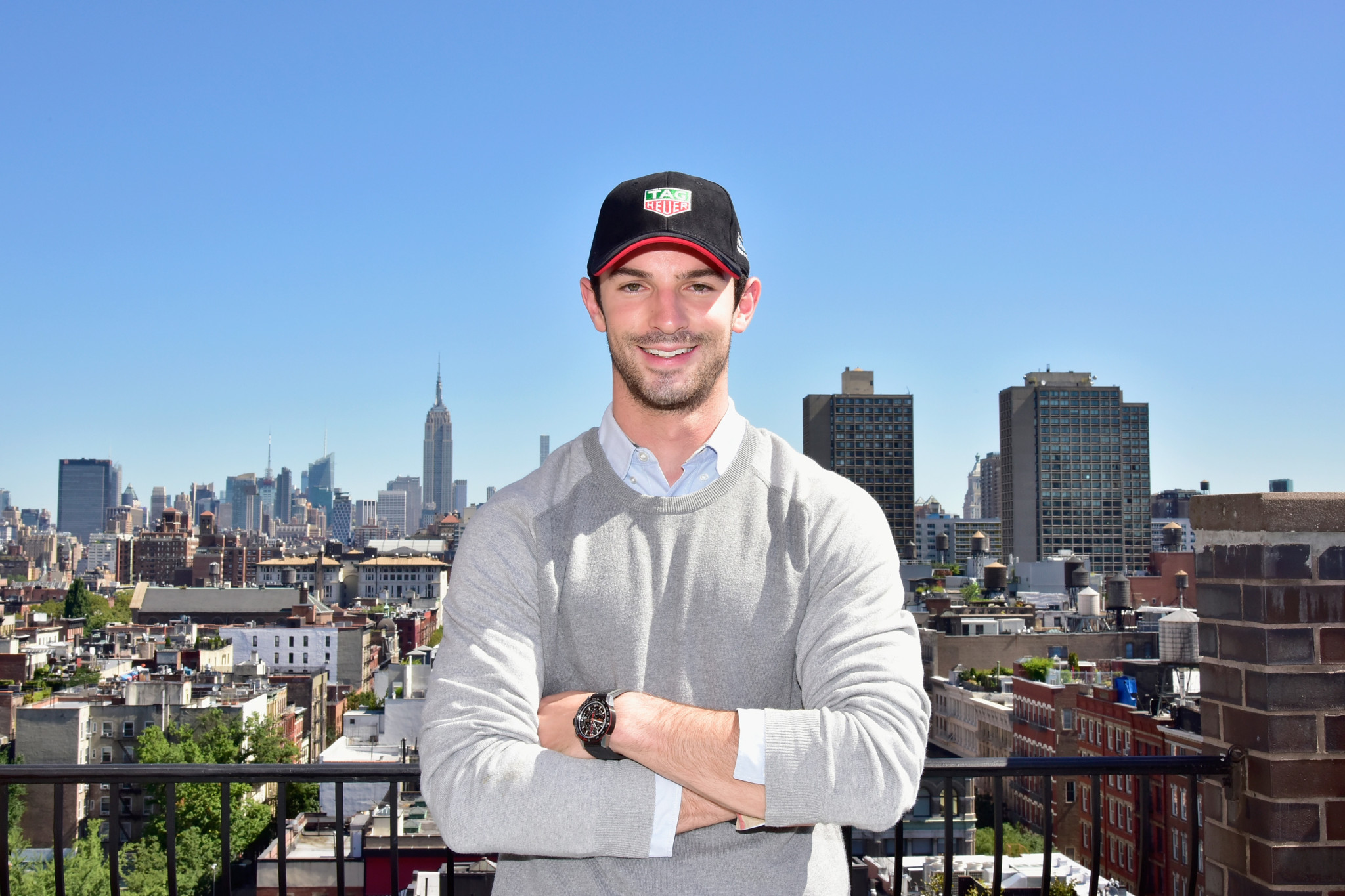TAG Heuer and Alexander Rossi Photoshoot