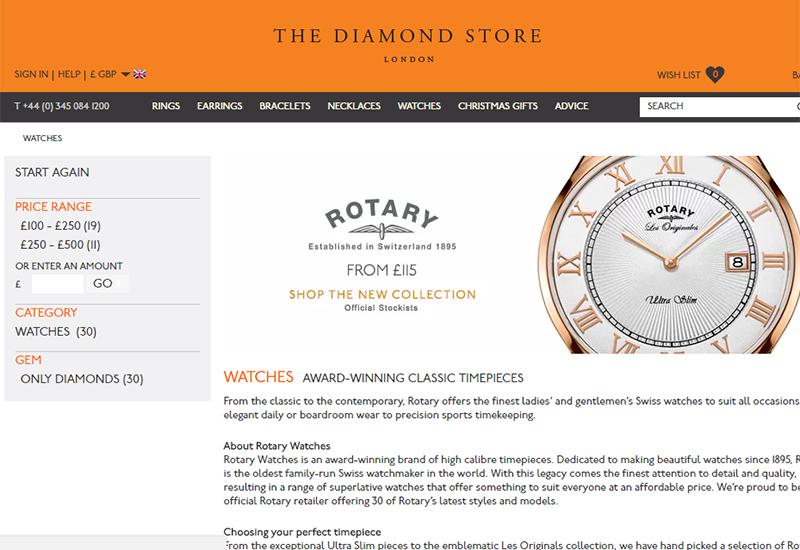diamondstore-website