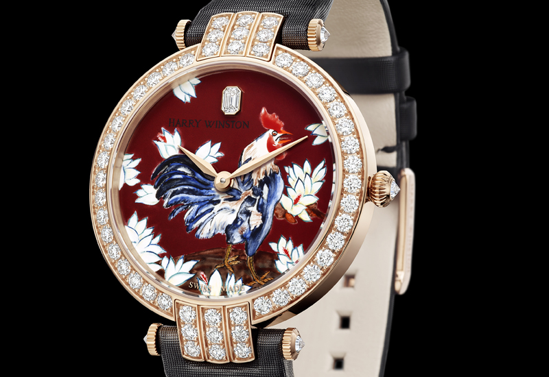 Harry Winston rooster