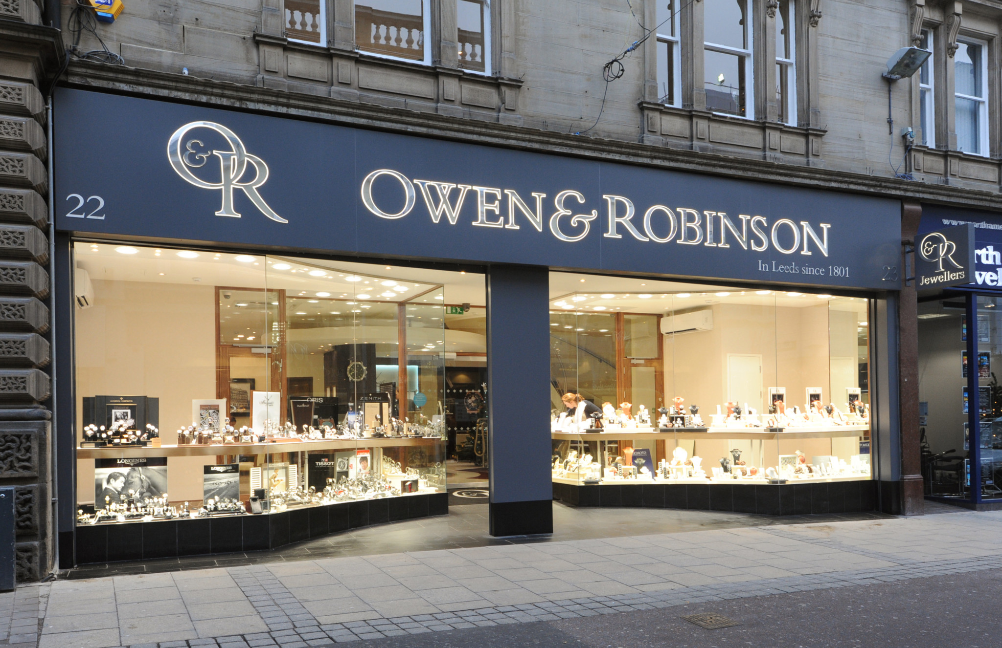 Owen & Robinson, owned by Berry's parent company, is one of the only stockists outside London for A. Lange & Sohne, Richard Mille and Vacheron Constantin.