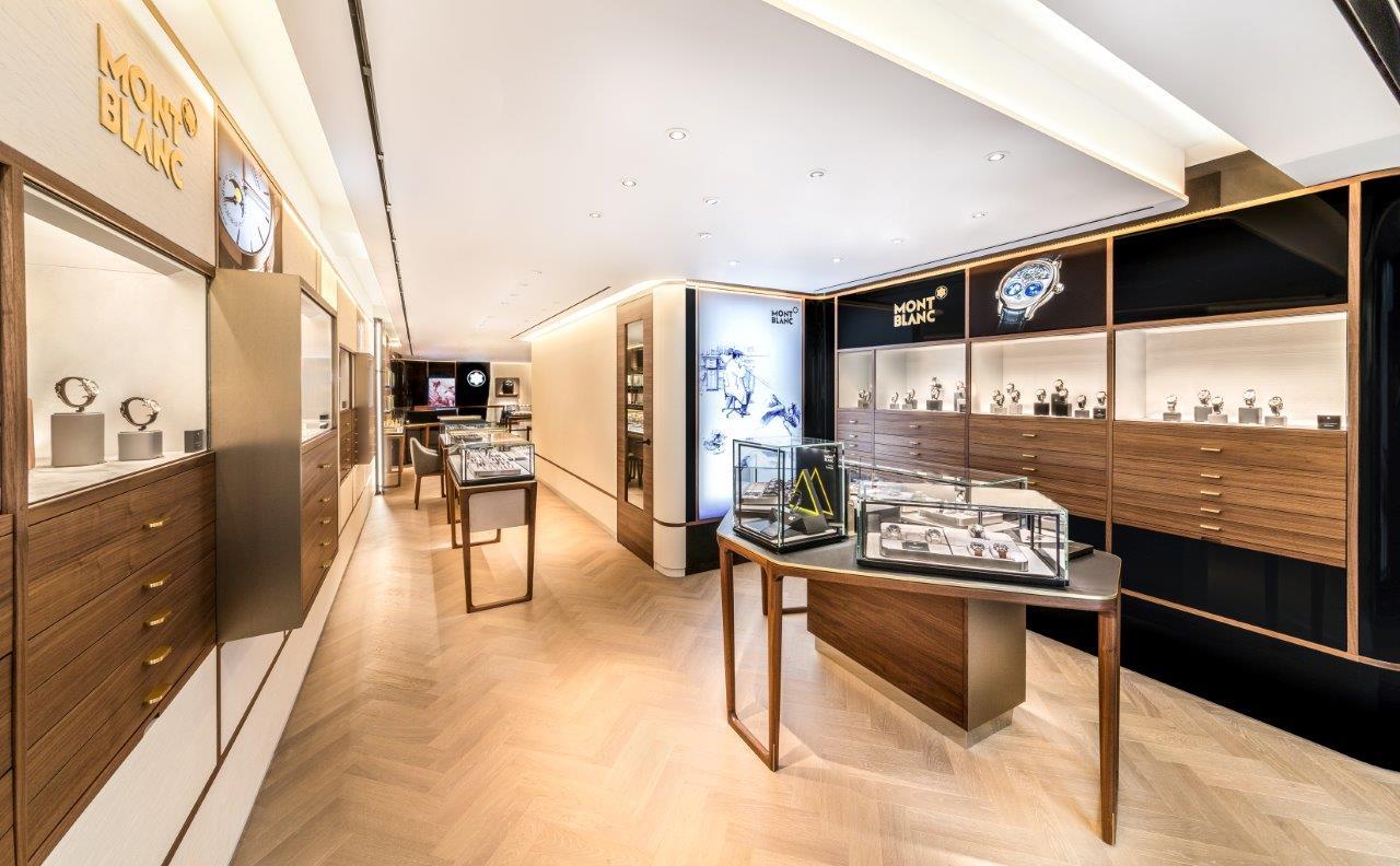 Montblanc Boutique 119 New Bond Street Full Interior