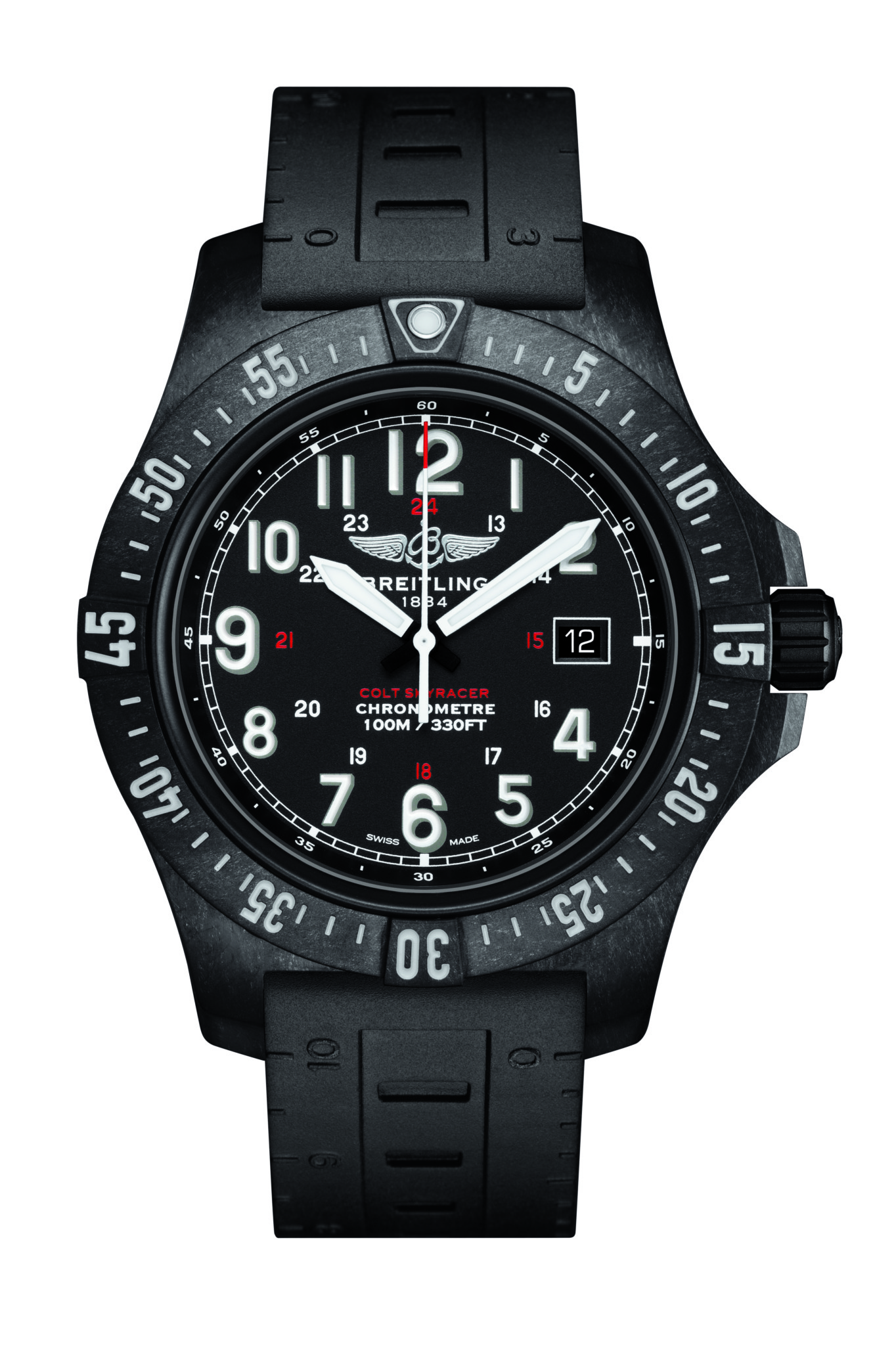 The Breitling Colt Skyracer was admired by Mr Toulson as a commercial winner in the making.
