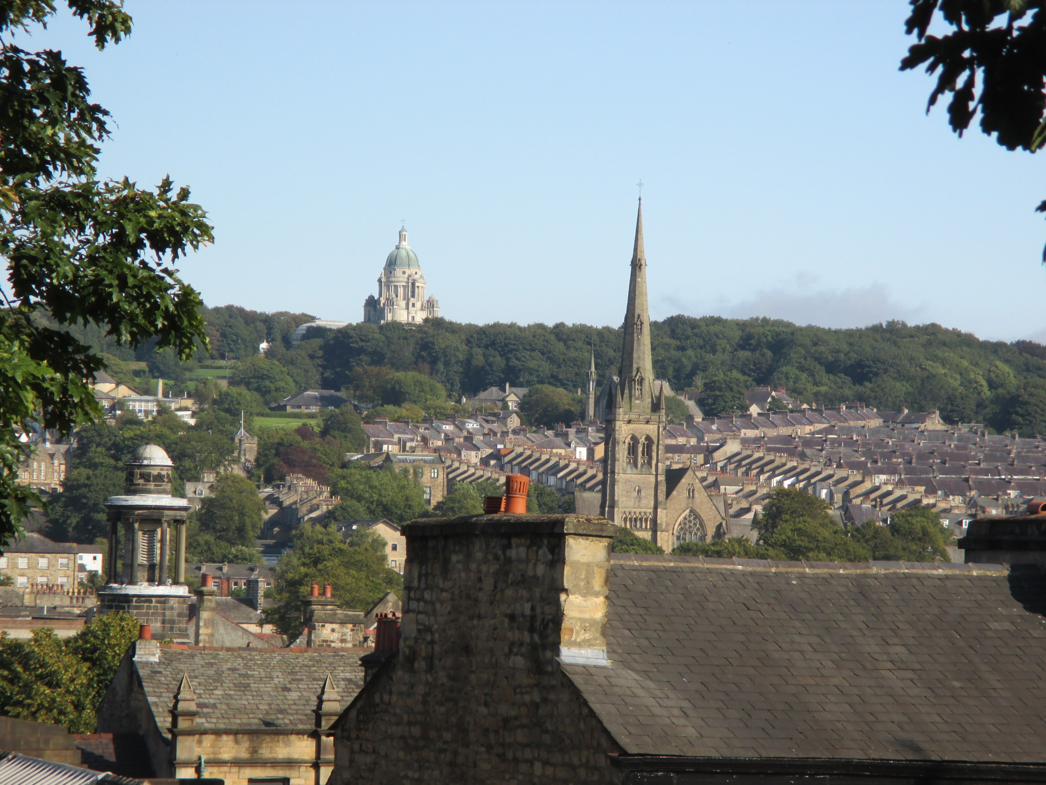 The picturesque town of Lancaster.