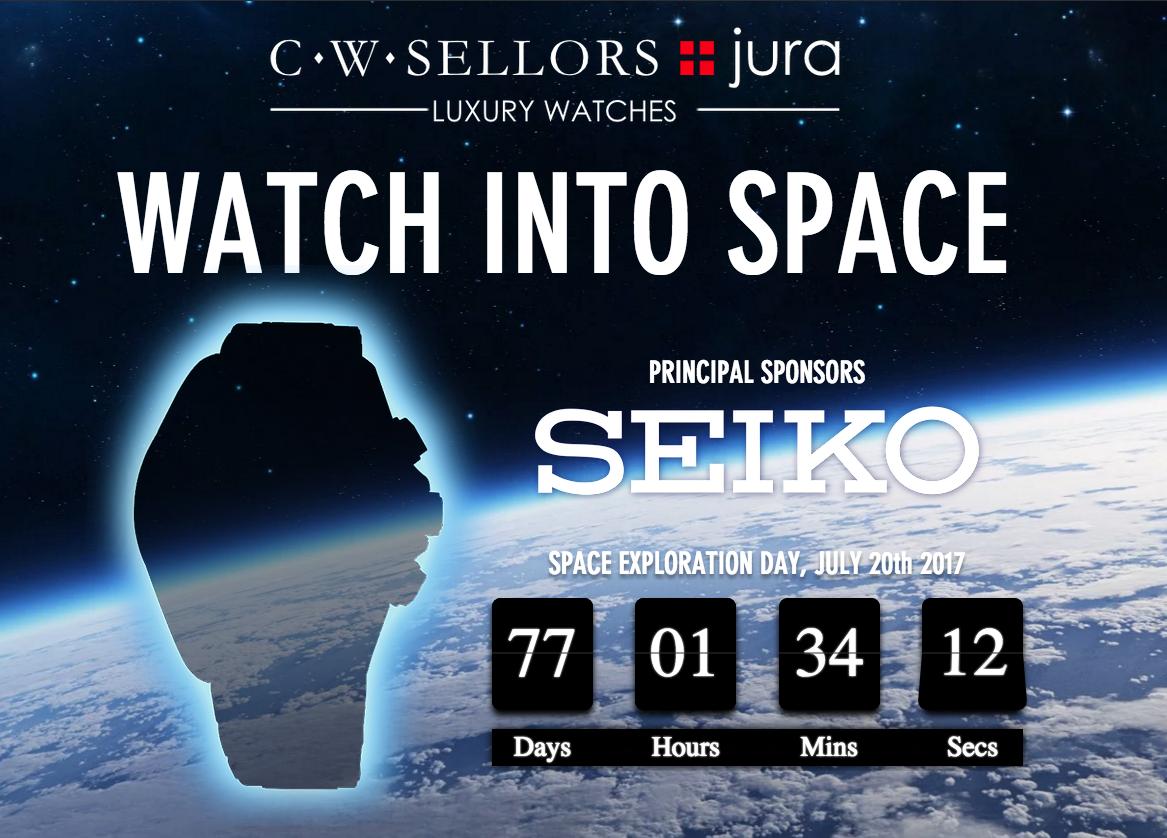 Seiko Jura Watches Space Launch
