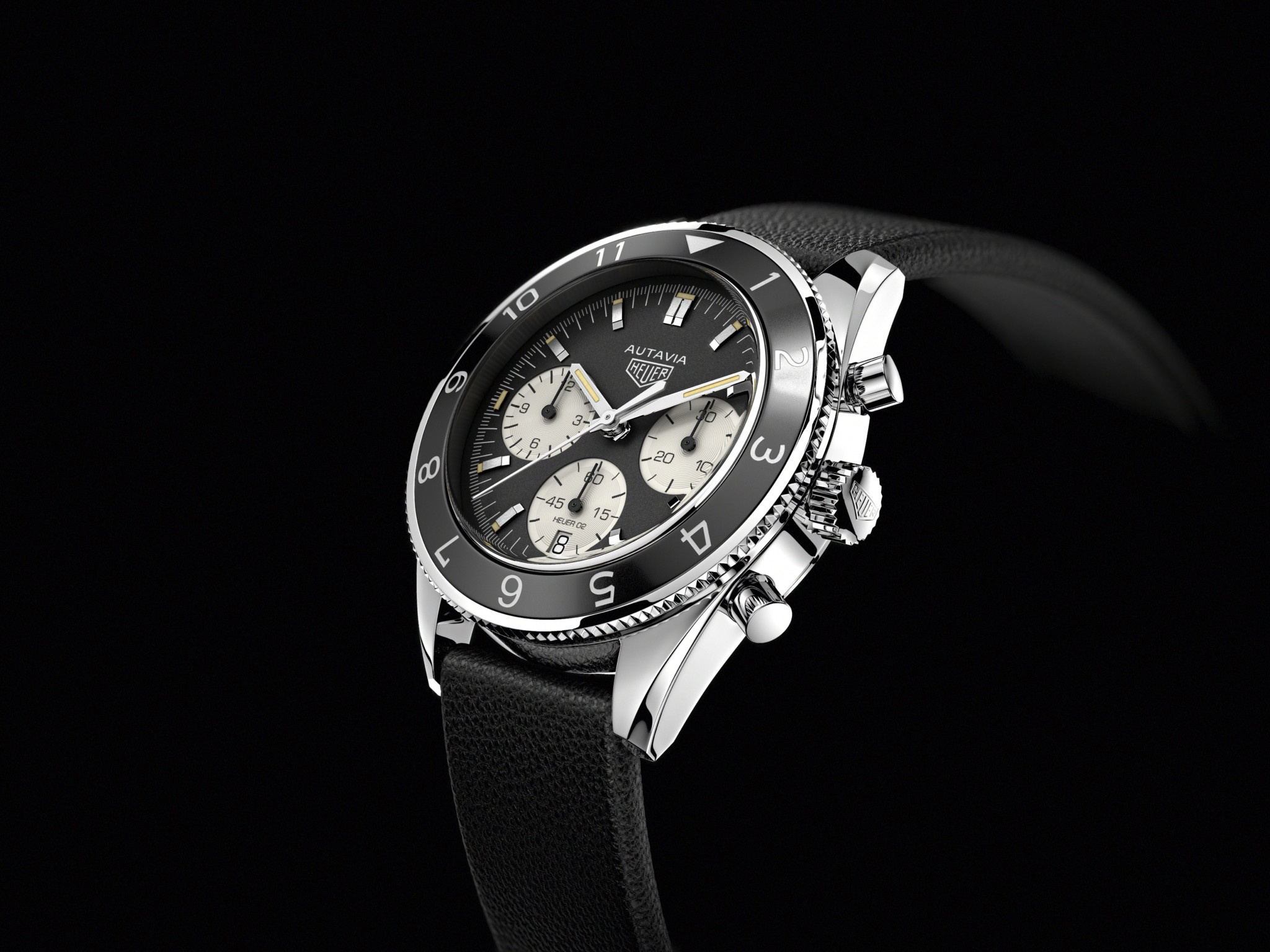 TAG Heuer also embraced the vintage vibe with the reissue of its Autavia model.