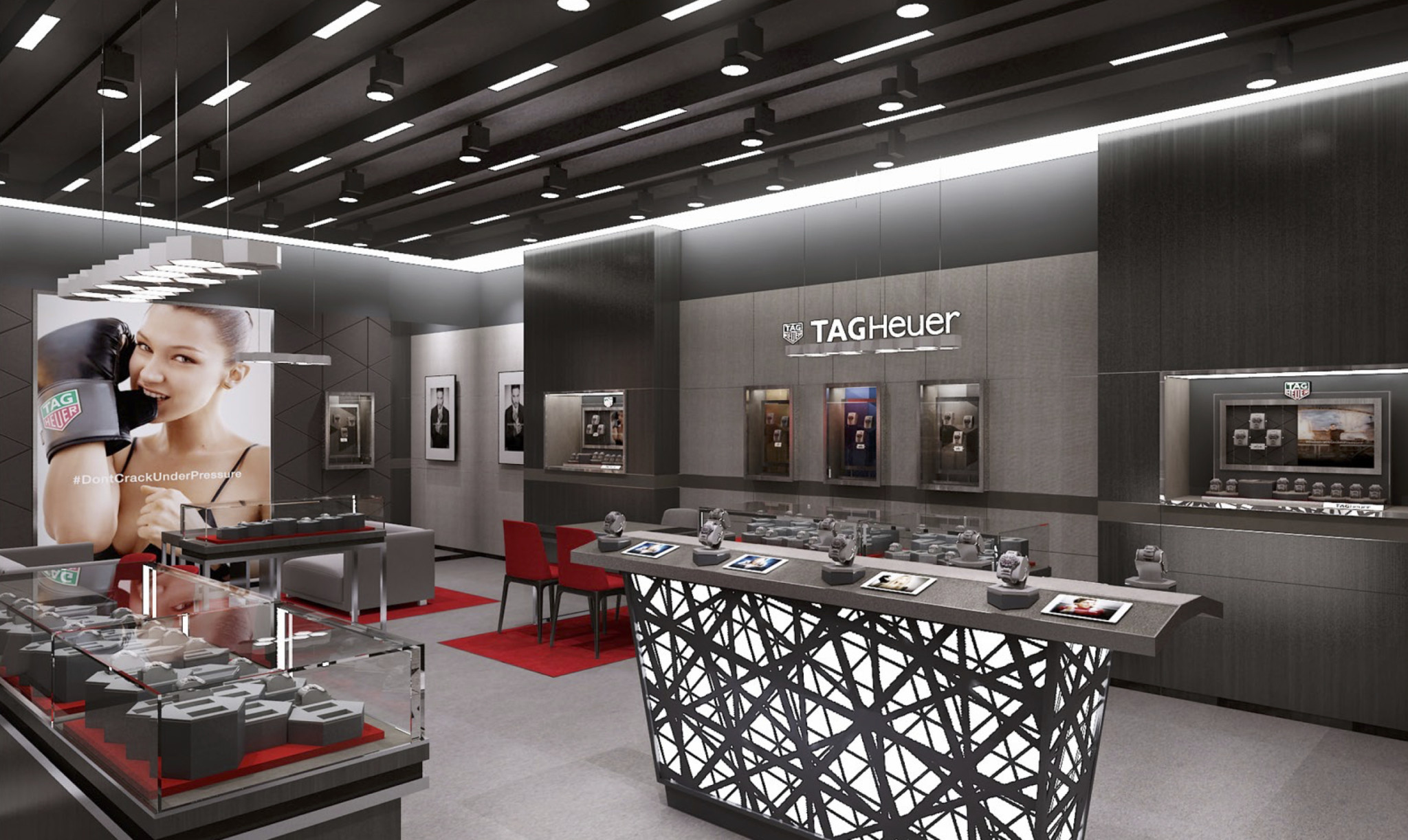 TAG Heuer Meadowhall rendering