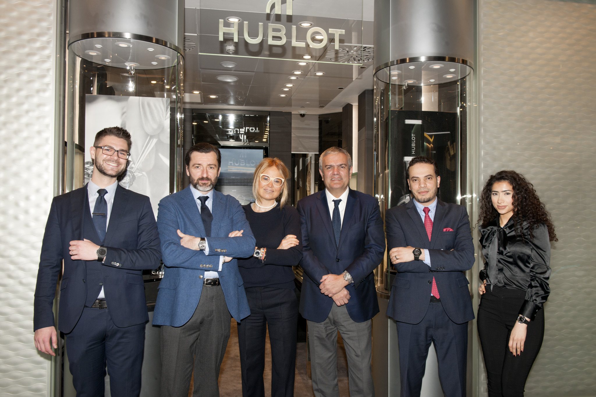 Hublot. which reopened its ground floor boutique in Harrods earlier this year, is moving to the lower ground.