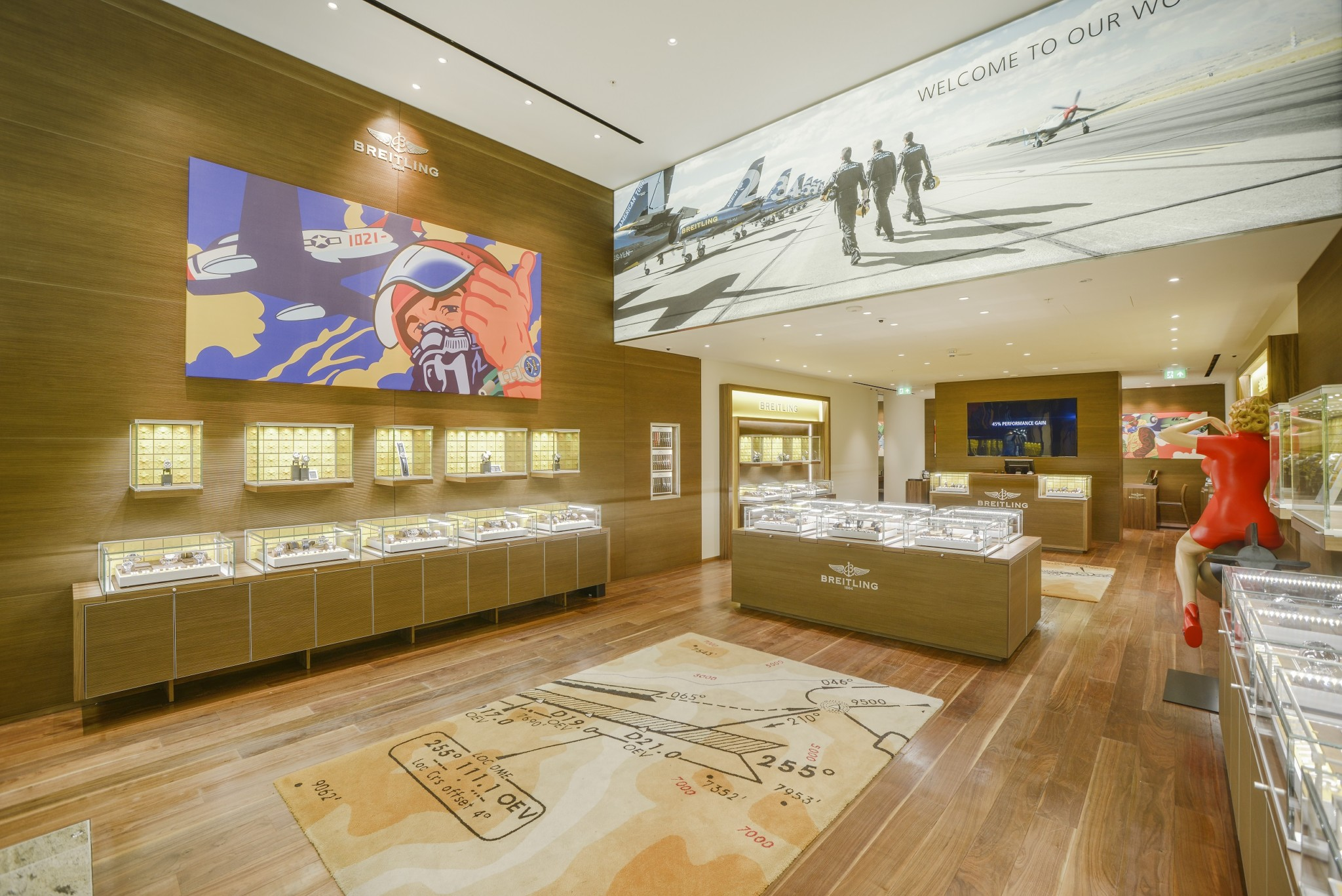A second opening for Breitling inside Manchester's Trafford Centre quickly followed.
