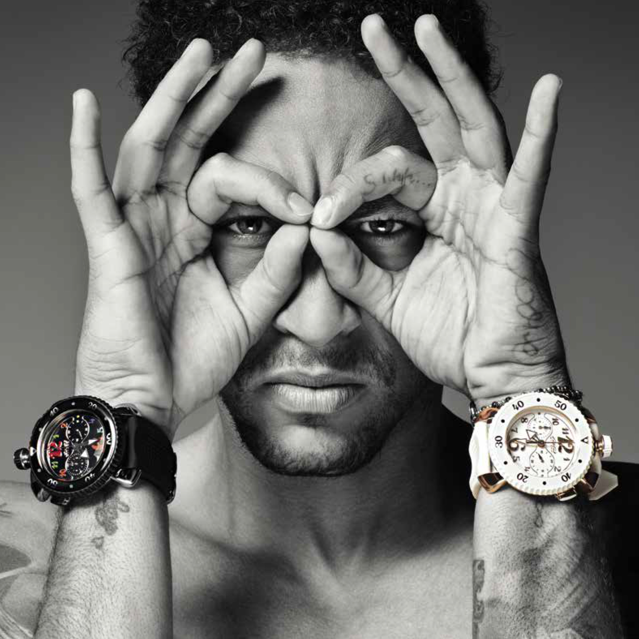 Neymar, who could be playing in the Premier League next season, is a face for GaGa Milano.