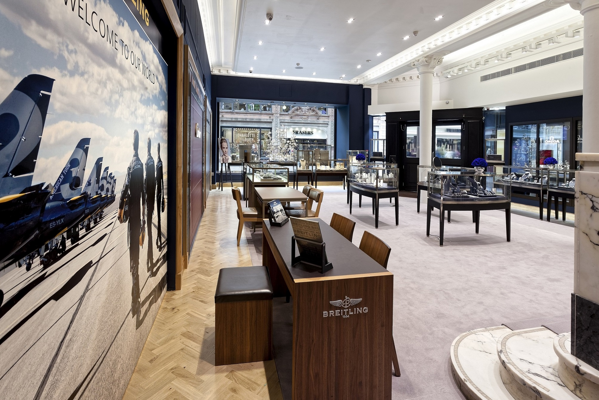 The Mappin & Webb showroom in Glasgow (2)