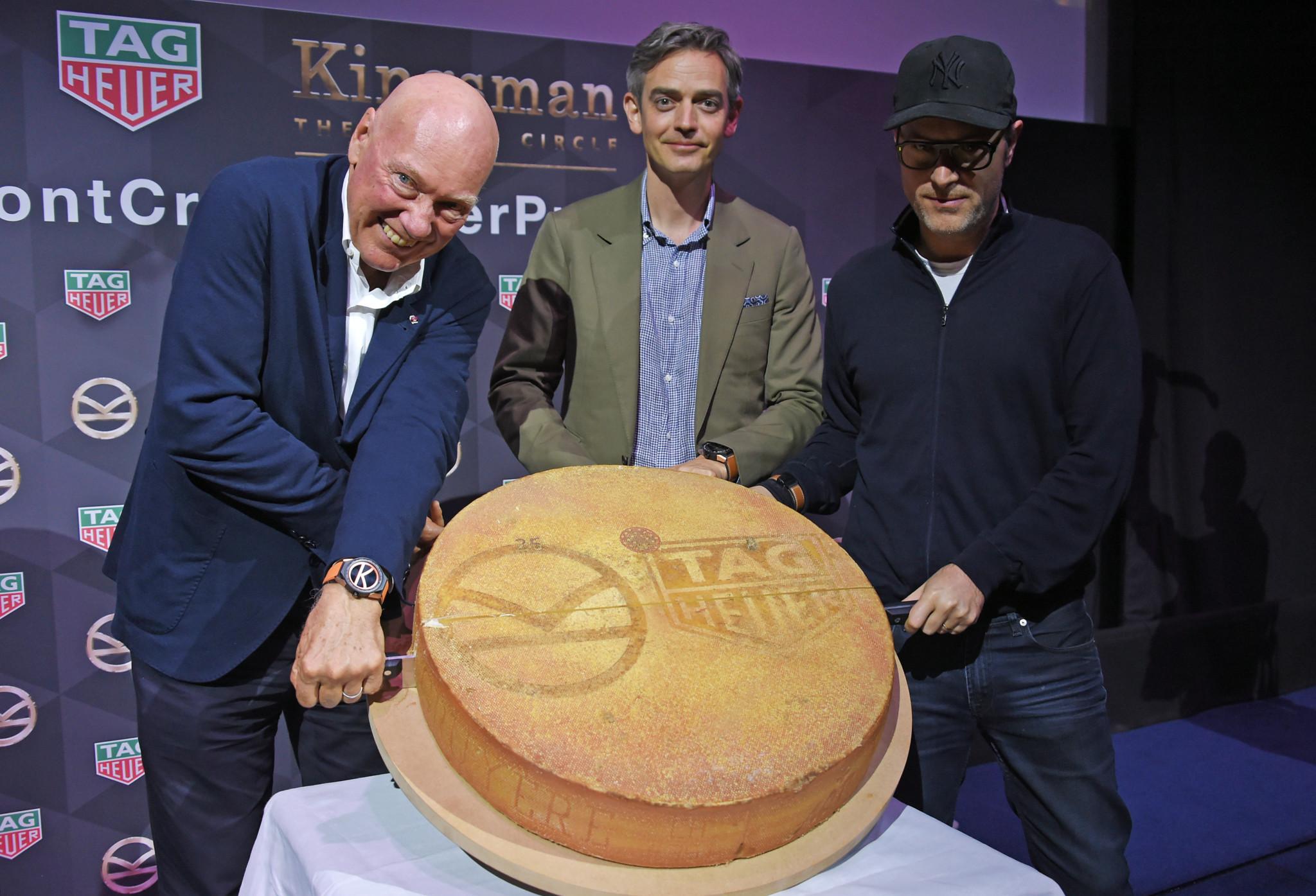 Jean-Claude Biver, Toby Bateman and