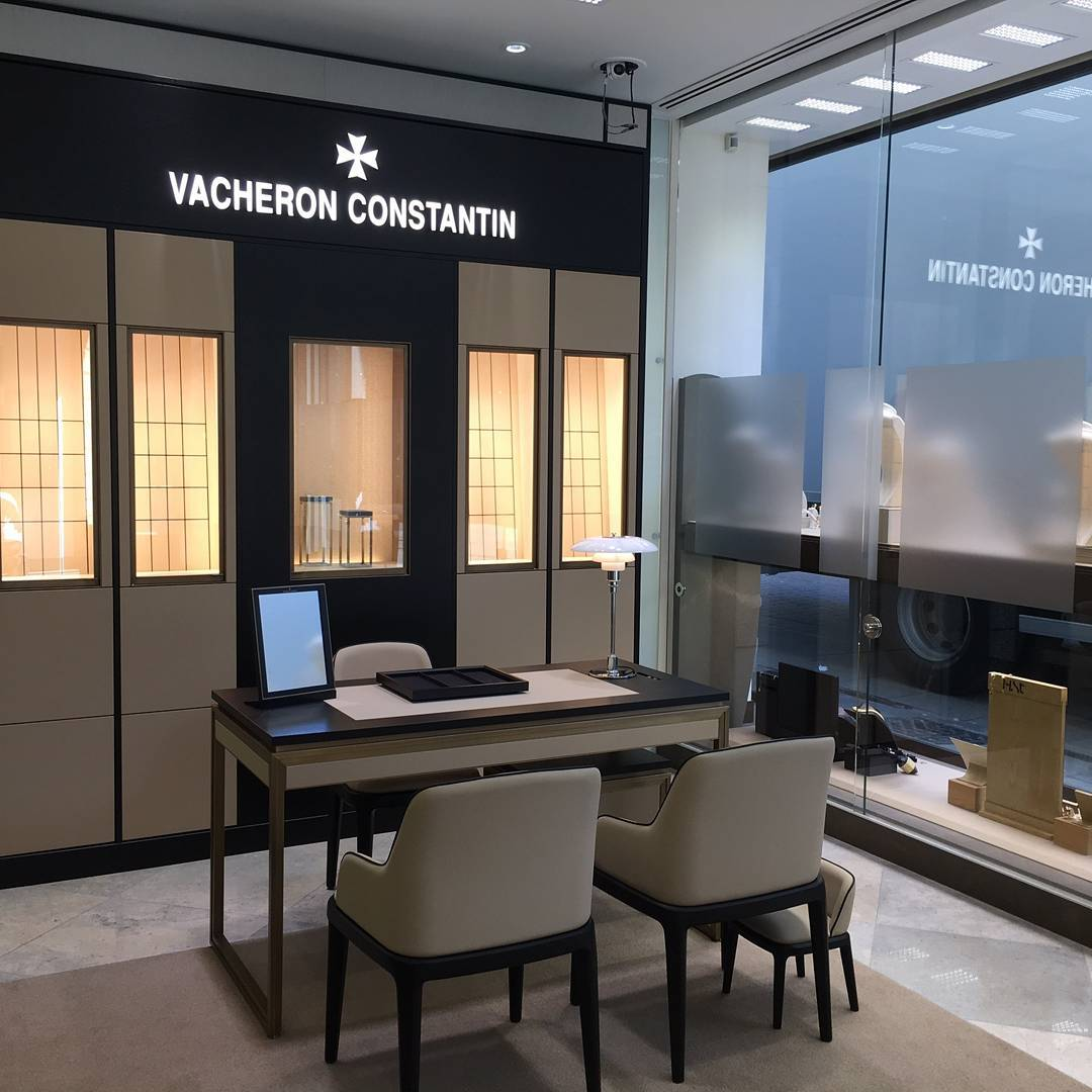 Vacheron Constantin is available for the first time in Manchester.
