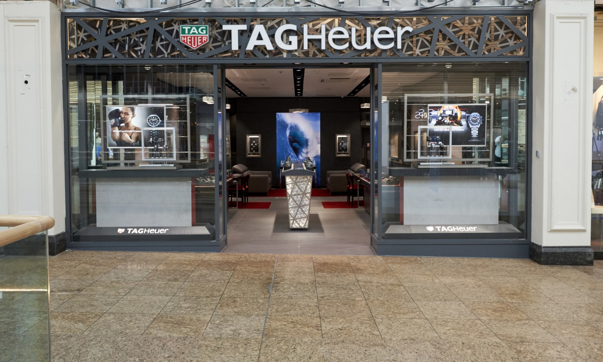 TAG Heuer opens in Meadowhall
