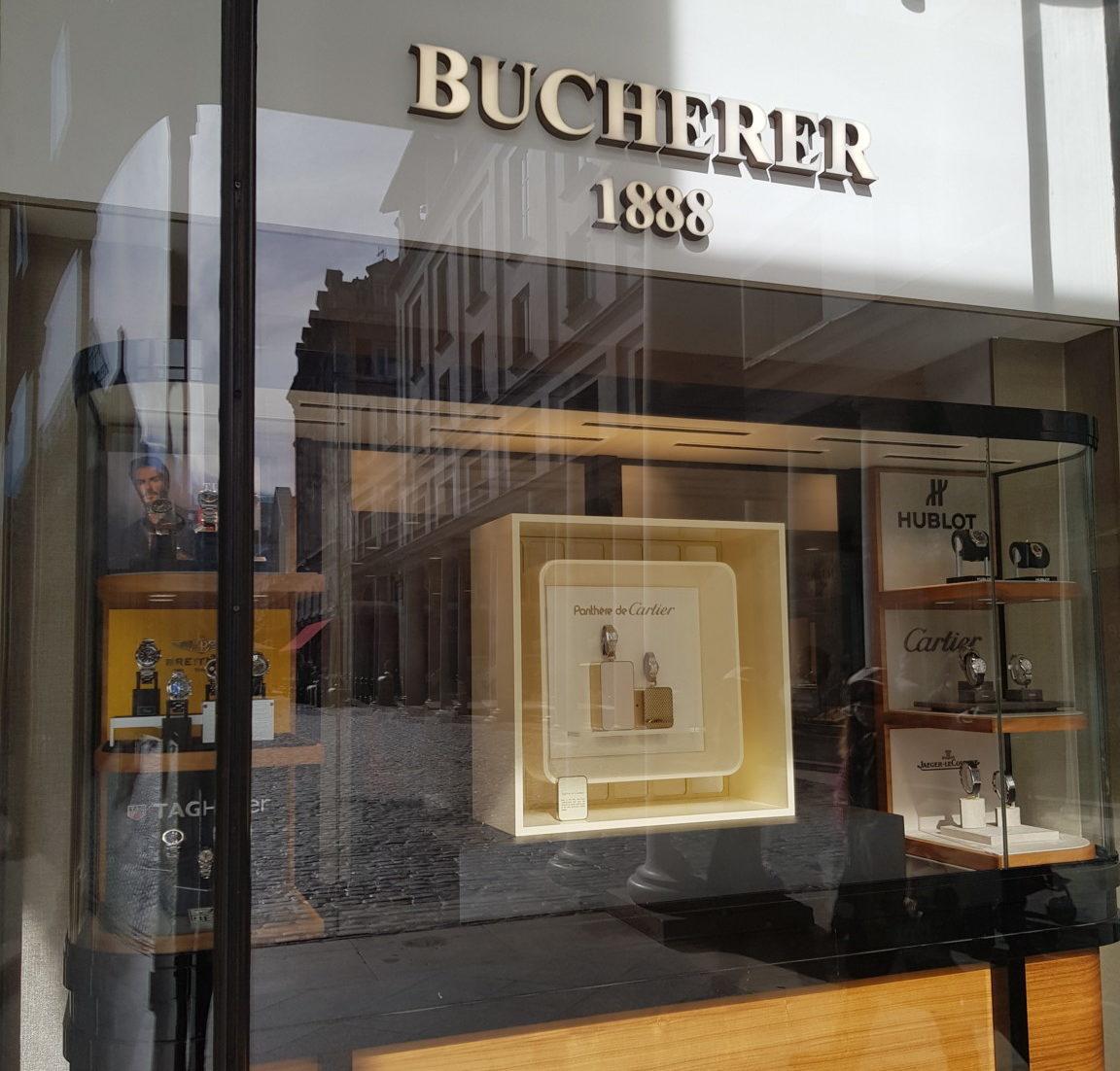 The Bucherer UK boutique in Covent Garden.