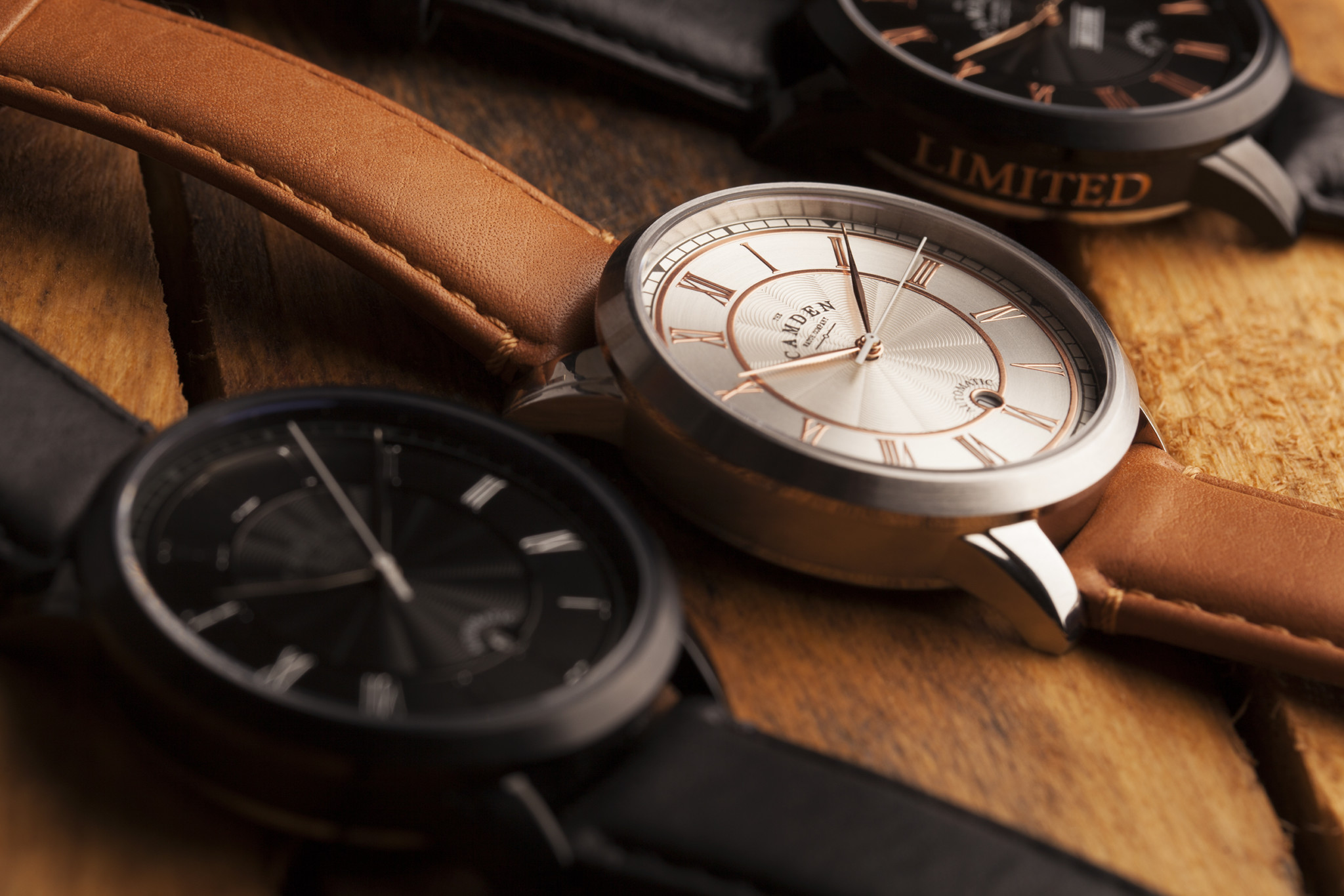 Camden Watch Company Automatic Collection 1