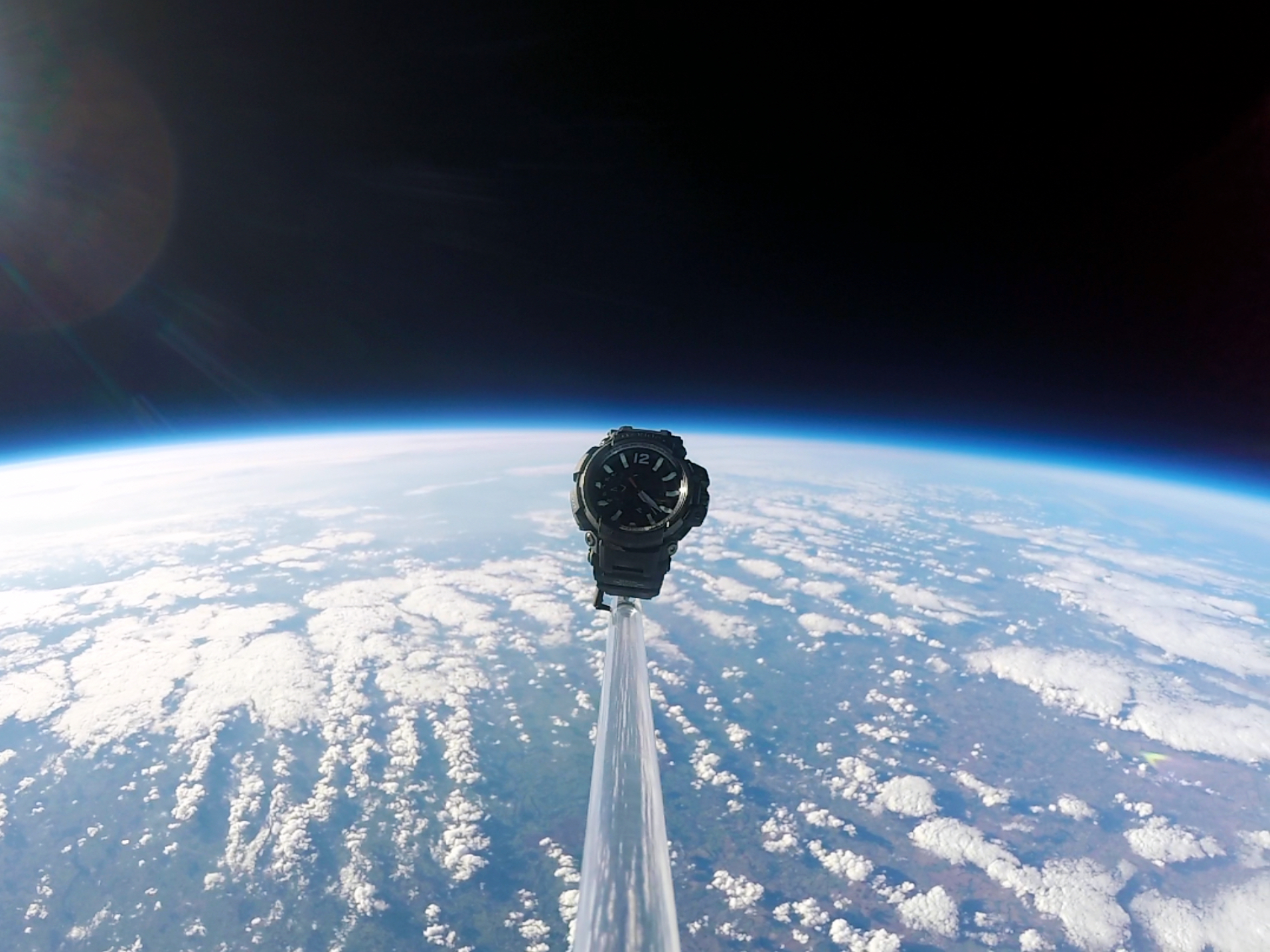 Casio G-SHOCK Gravitymaster launch into space2