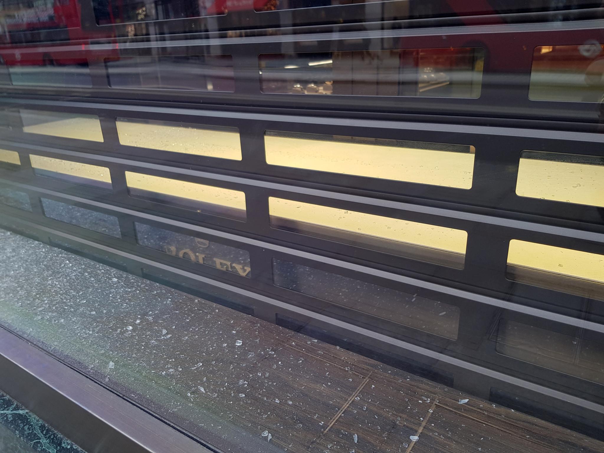 Mappin & Webb Regent Street Robbery