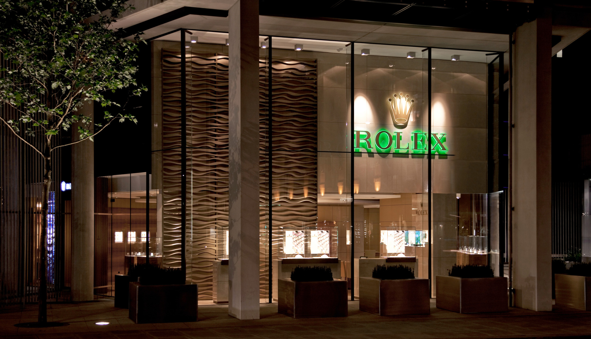The Rolex boutique at One Hyde Park in London's Knightsbridge, is the biggest Rolex showroom in the UK.