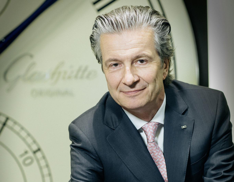 Glashuette Original CEO Thomas Meier