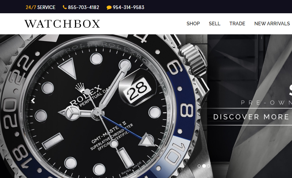 watchbox website