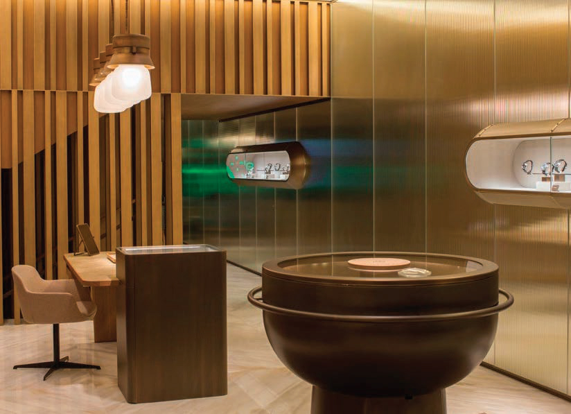 Panerai Bond Street interior