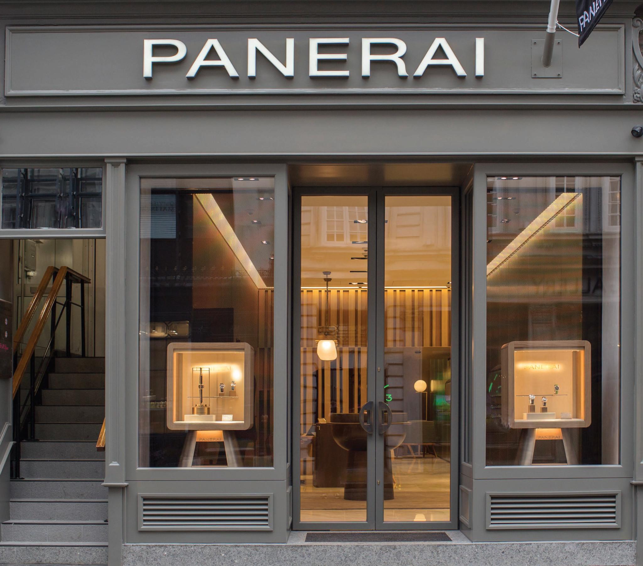 Panerai Bond Street store front