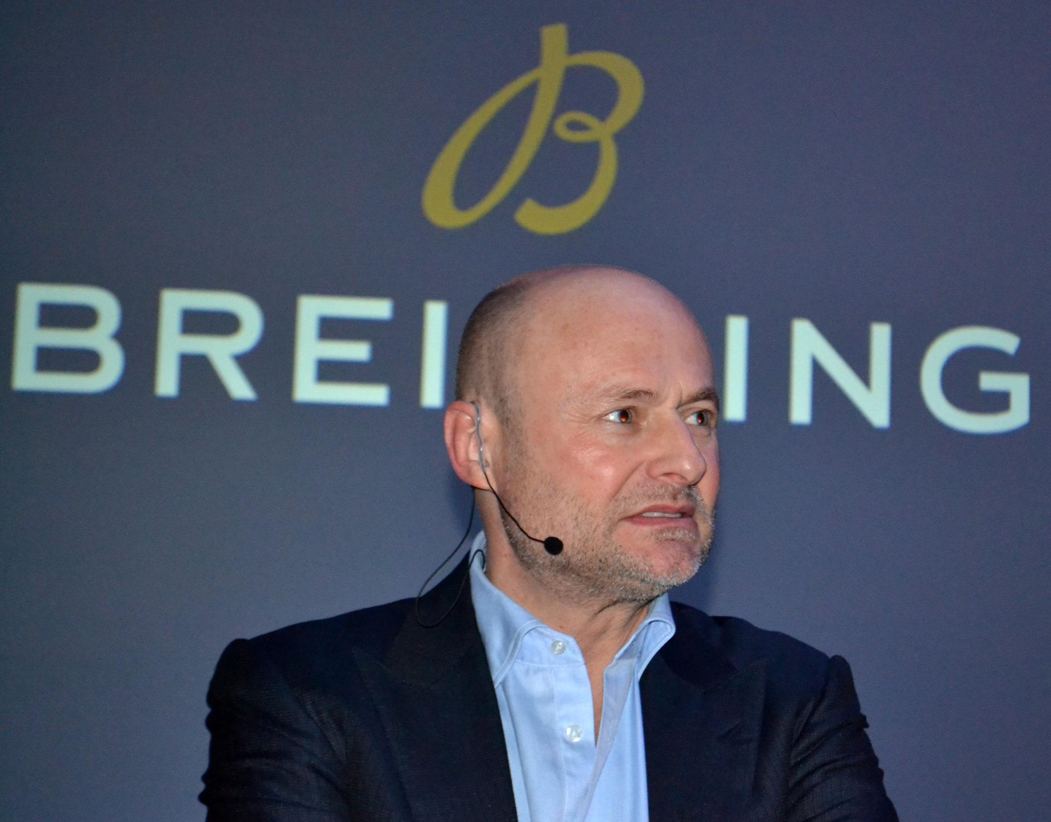 George Kern, Breitling in London