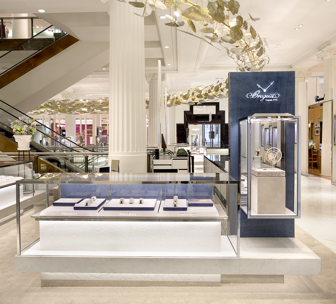 Breguet Point of Sale with Bucherer 1888 at Selfridges_2_72DPI
