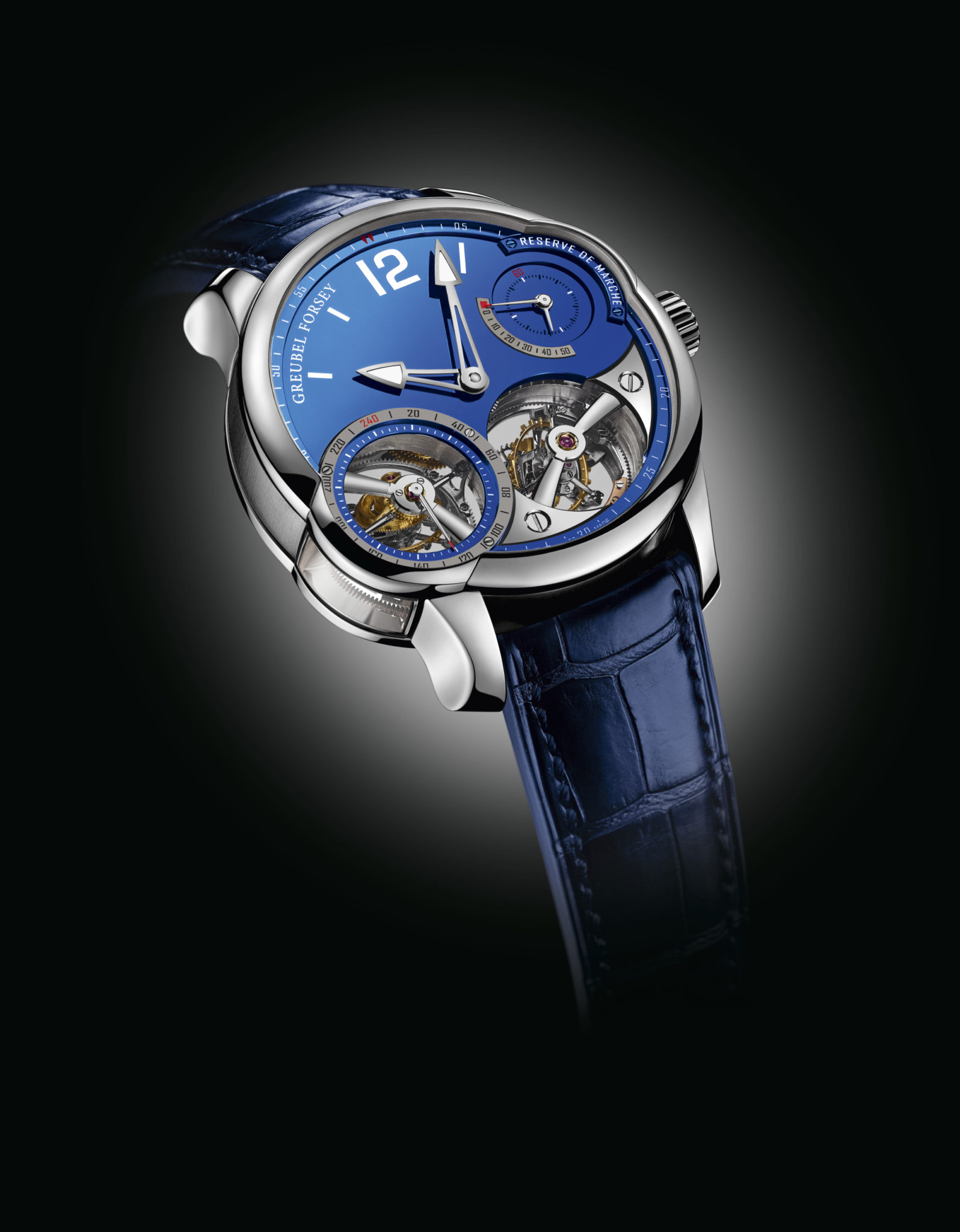 Quadruple Tourbillon Blue