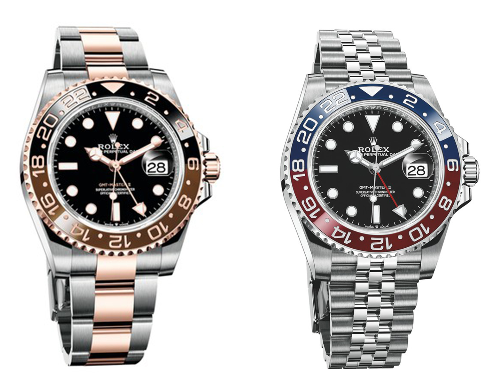 Rolex GMT Master II Nespresso and Pepsi
