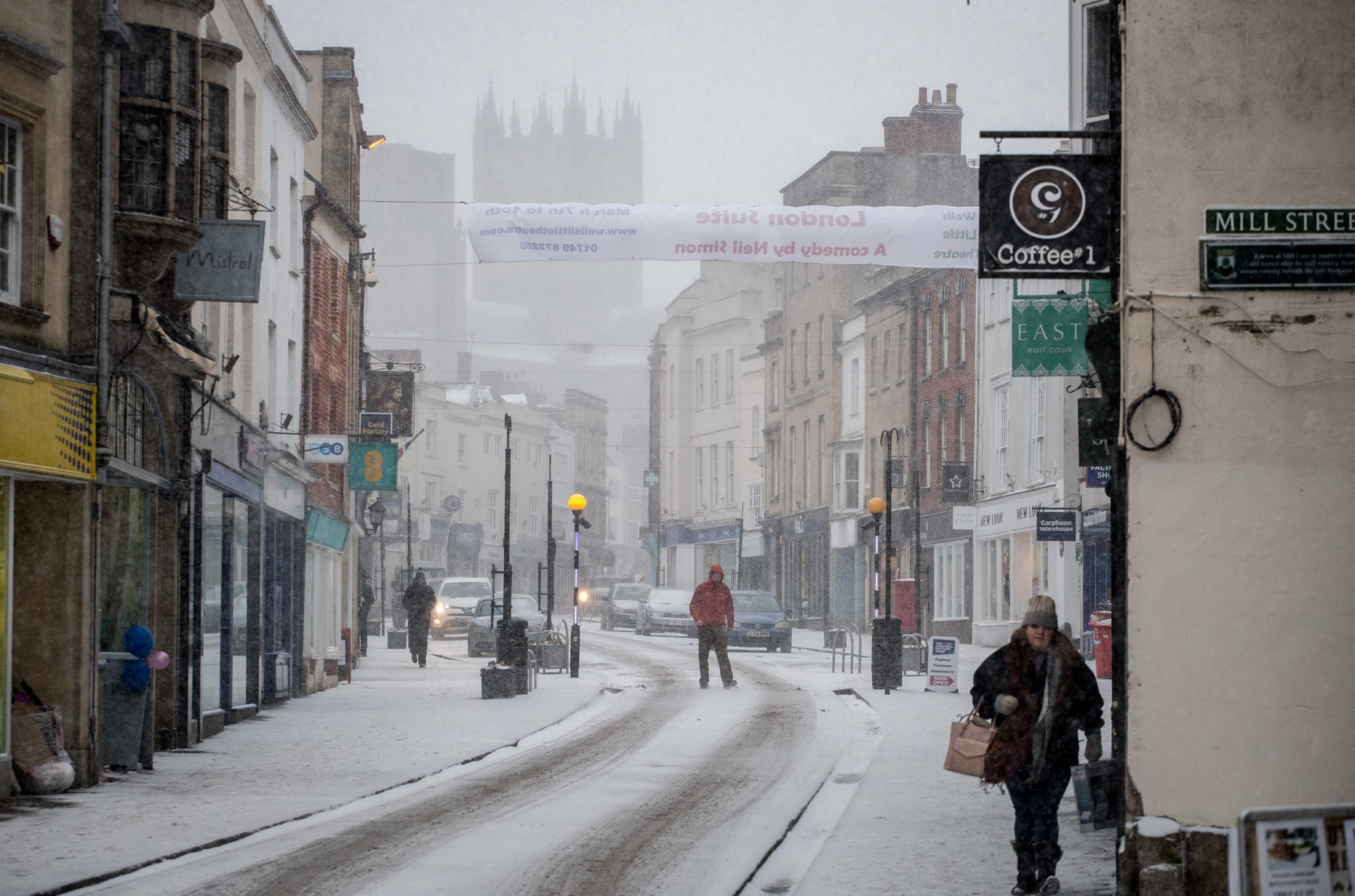 Storm Emma Meets The Beast From The East Bringing Further Snow Chaos To The UK