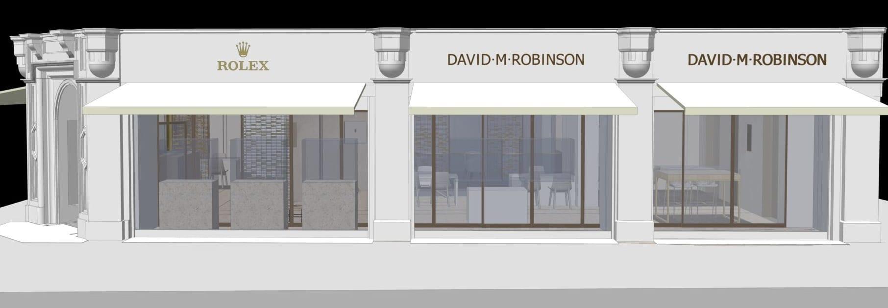 David M Robinson Manchester