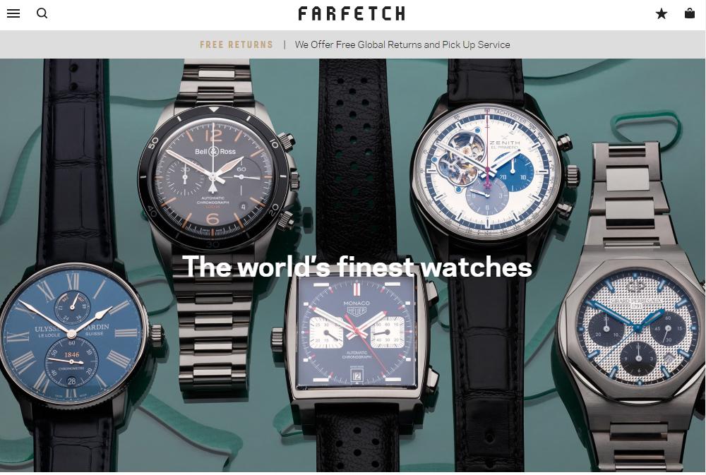 Farfetch watches
