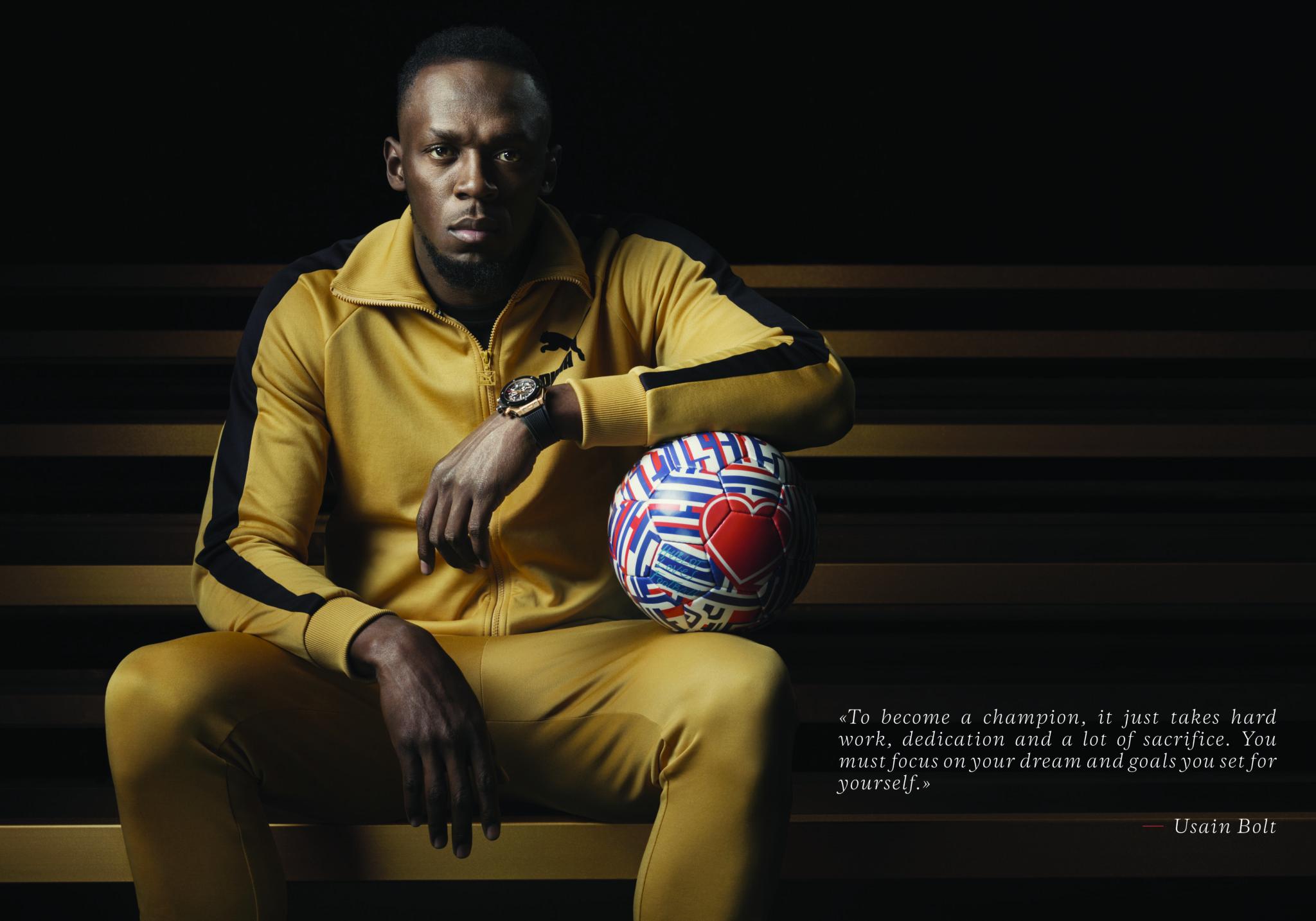 Hublot Ambassador Usain Bolt – Champion advice