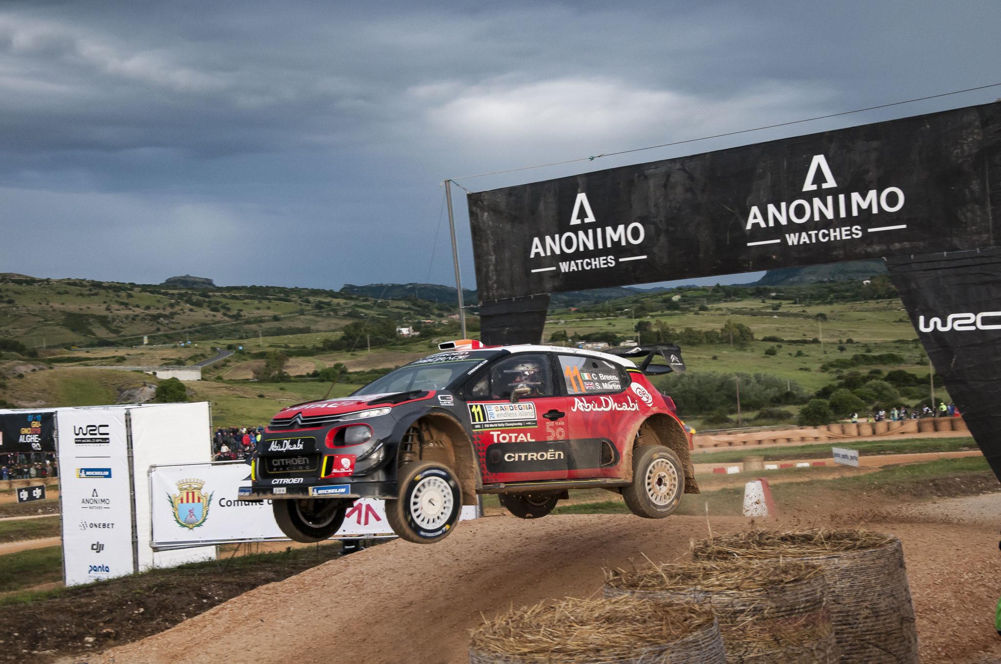 ANONIMO and WRC at Ittiri Arena Show Sardinia
