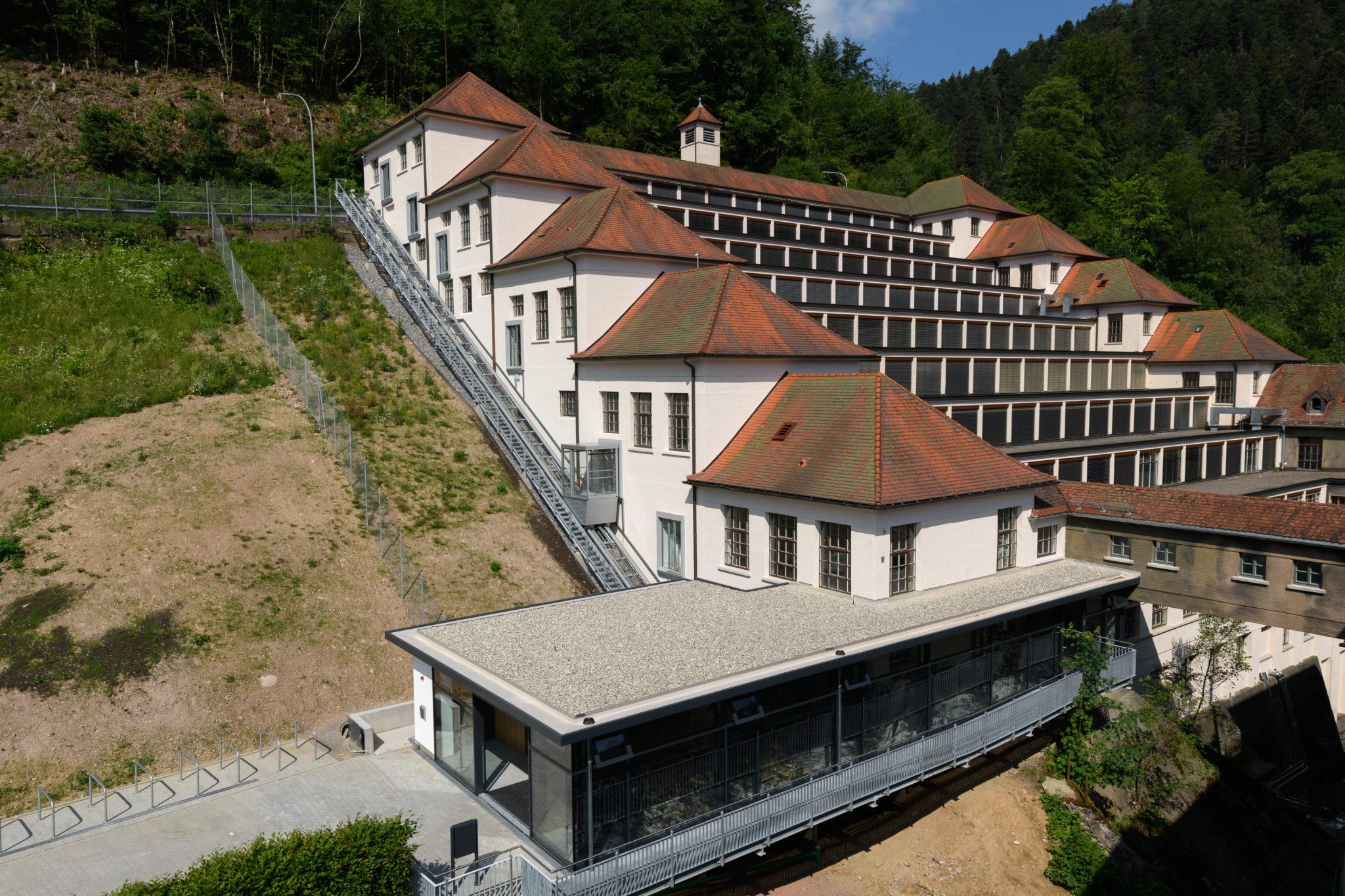 Terrassenbau Museum Junghans