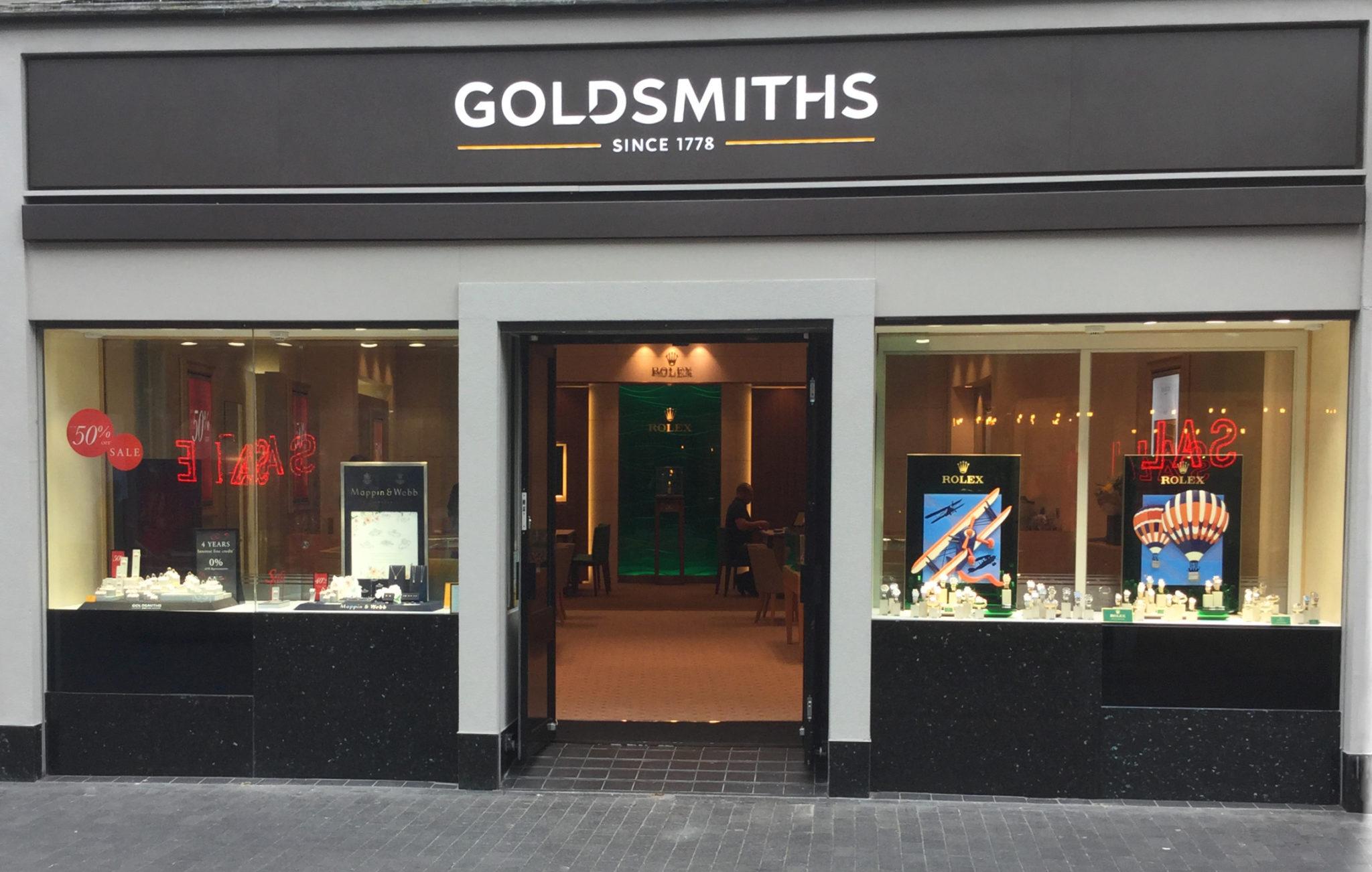 Goldsmiths Rolex