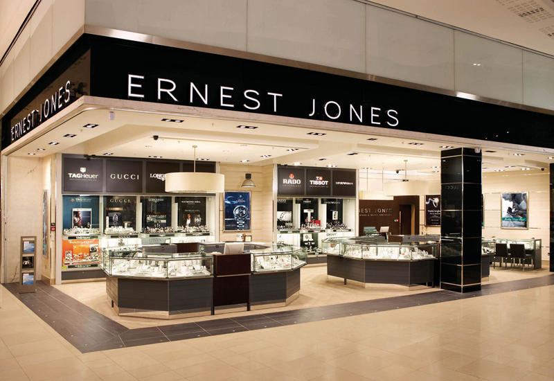 interior design for jewelry stores uk