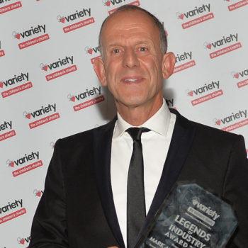 Mark Adlestone With Award