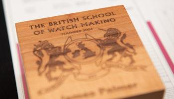 British School of Watchmaking Graduation