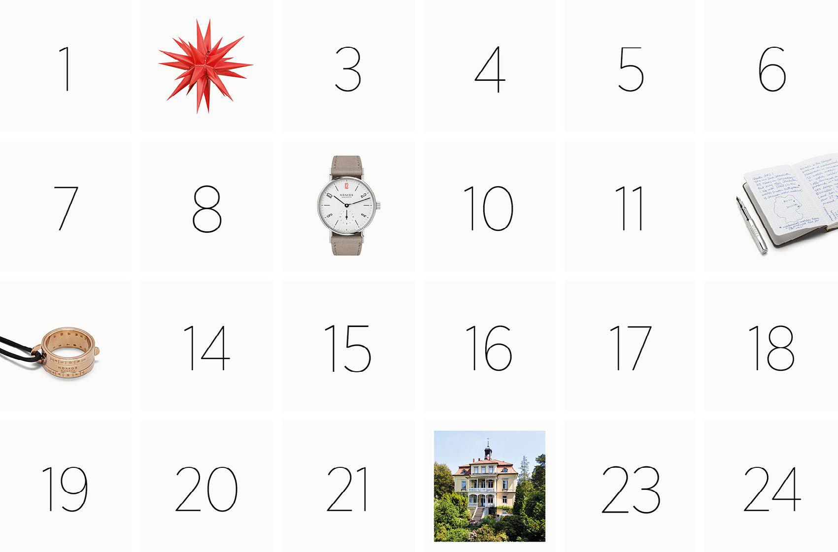 Nomos Advent Calendar