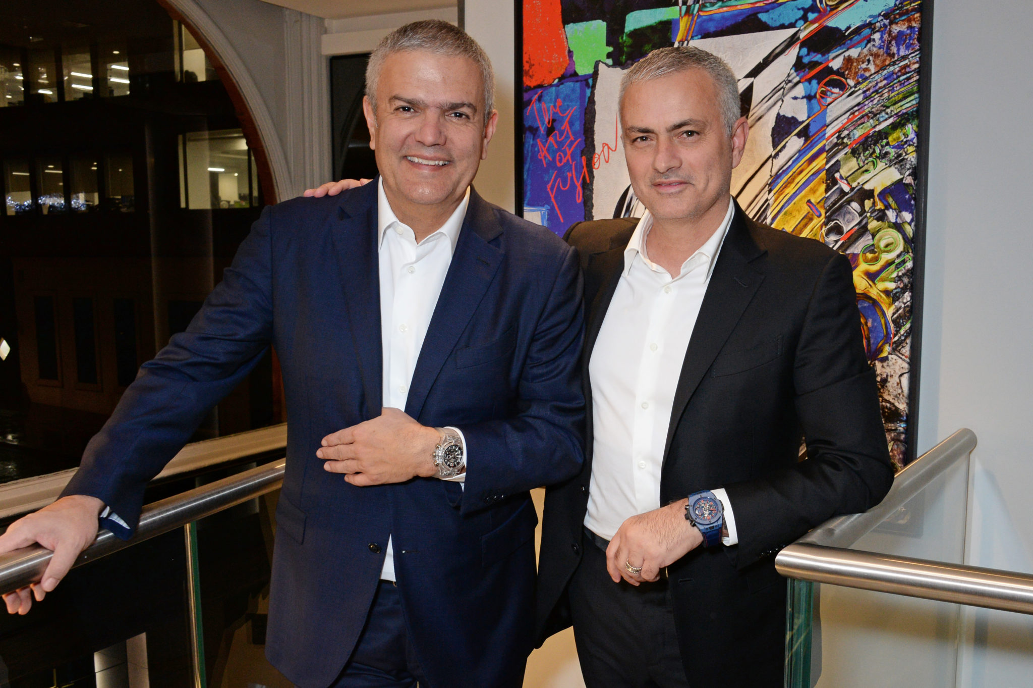 Hublot Launches Big Bang 'The Special One' Limited Edition In Presence of Jose Mourinho