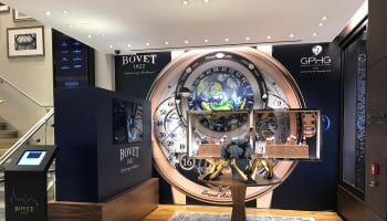 BOVET pop up in WOS_Oxford Street