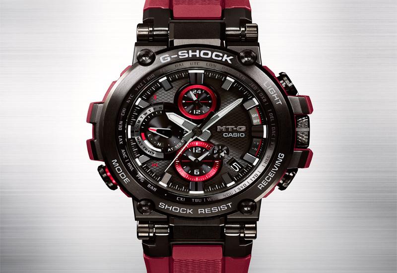 gshock MT-G Red