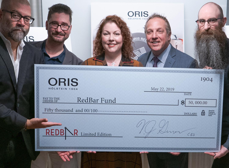 Oris-Redbar-donation