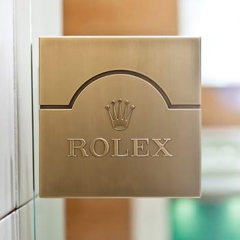 Rolex Glass Door