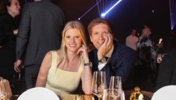 Lara Stone and JP Perret